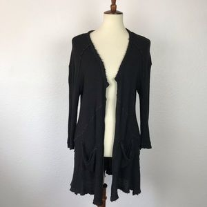 Free People Open Front Knit Cardigan